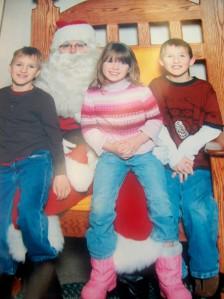 Kids and Santa